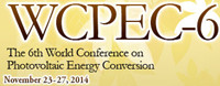 The 6th World Conference on Photovoltaic Energy Conversion