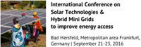 International Conference on Solar Tchnologies & Hybrid Mini Grids