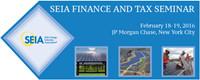 SEIA's Finance and Tax Seminar