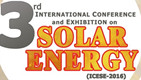 3rd International Conference and Exebition on Solar Energy