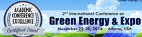 2nd International Conference on Green Energy & Expo