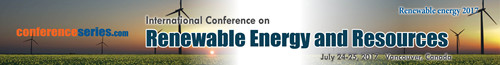 International Conference on Renewable Energy and Resources