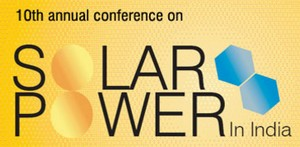 Tenth Annual Conference Solar Power in India