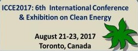 ICCE 2017: 6th International Conference & Exhibition on Clean Energy