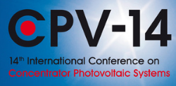 14th International Conference on Concentrator Photovoltaics