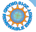 Grand Renewable Energy International Conference and Exhibition 2018