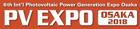 6th International Photovoltaic Power Generation Expo Osaka