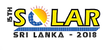 15th Solar Sri Lanka 2018 International Expo