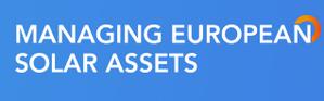 Managing European Solar Assets