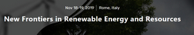 New Frontiers in Renewable Energy and Resources 2019