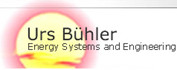 Urs Bühler Energy Systems and Engineering