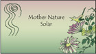 Mother Nature Solar