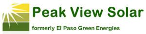 Peak View Solar ( formerly El Paso Green Energies)