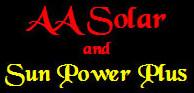 AA Solar & SunPowerPlus