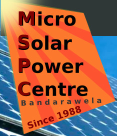 Micro Solar Power Centre