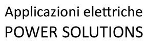 Applicazioni Elettriche Power Solutions