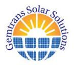 Gemtrans Solar Solutions