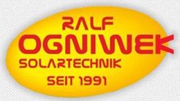Ralf Ogniwek Solartechnik