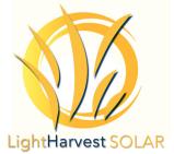 LightHarvest Solar