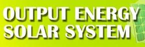 Output Energy Solar System
