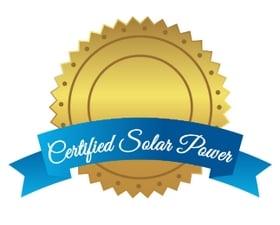 Certified Solar Power