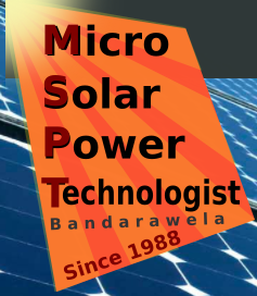 Micro Solar Power Technologist, Bandarawela