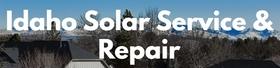 Idaho Solar Service & Repair