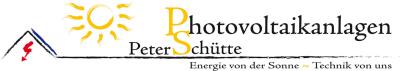 Peter Schütte Photovoltaikanlagen