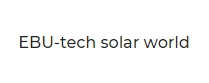 EBU - Tech Solar World