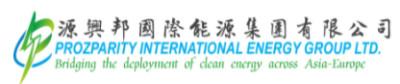 Prozparity International Energy Group Ltd.