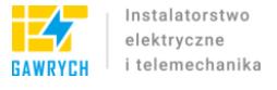 Instalatorstwo Elektryczne Telemechanika Andrzej Gawrych