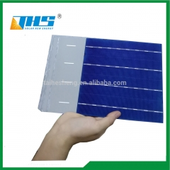solar cell 156.75*156.75mm 4BB polycrystalline solar 18.6%-19.4%