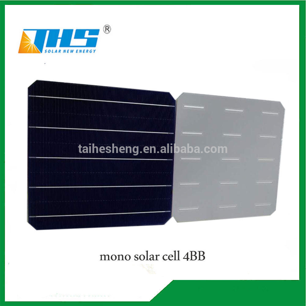 6.17'' 156.75 mm 19.2%-20% efficiency mono 4.691-4.81w solar cell