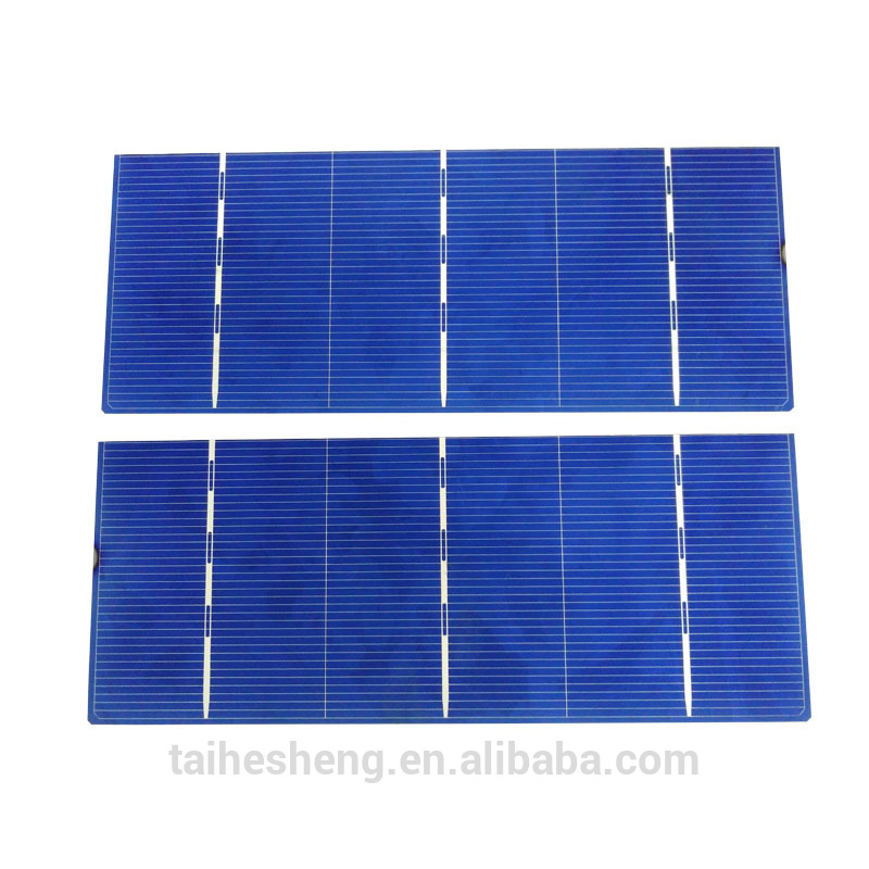 cutting size 156x78mm poly mono solar cell
