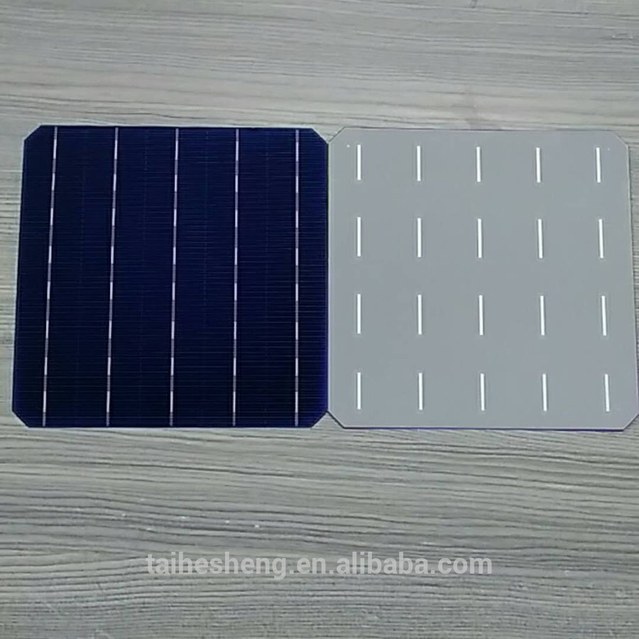 "NSP A grade 156.75mm 6.17"" 5BB mono solar cell 20%-20.6%"