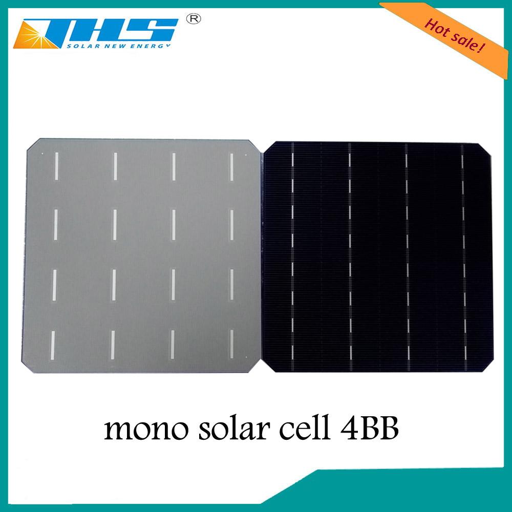 Mono 156.75*156.75mm 4bb 18.4-19.1% efficiency