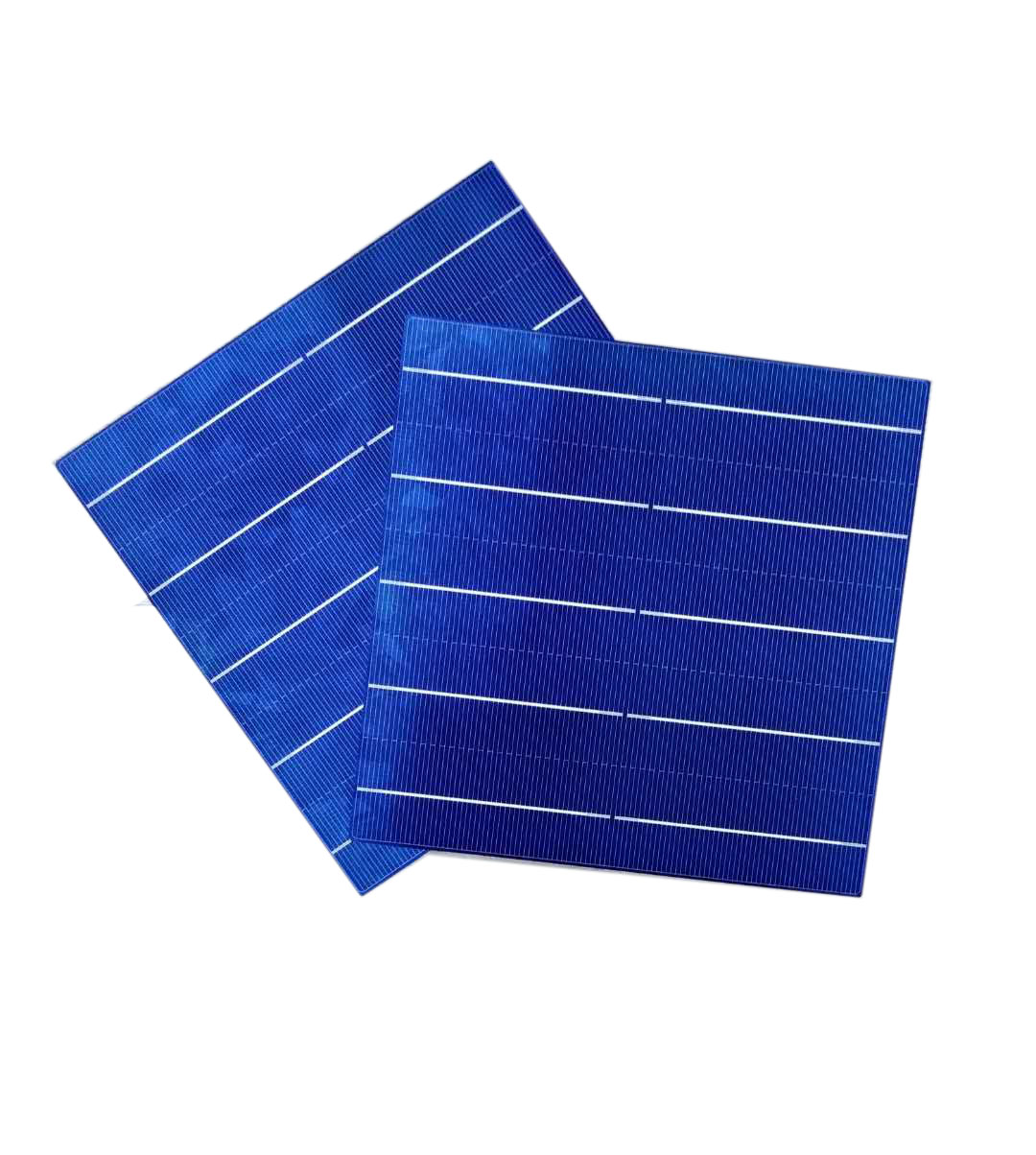 poly solar cell 156.75mm 5BB 17.6-18.6%