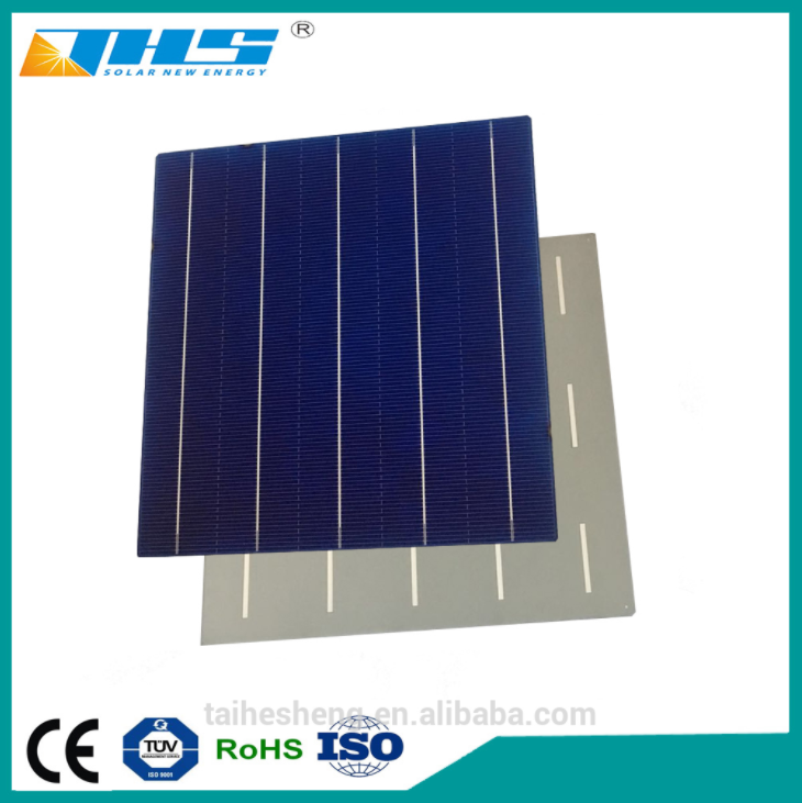 poly 156.75mm 5BB PERC solar cell 18.9-19.4%
