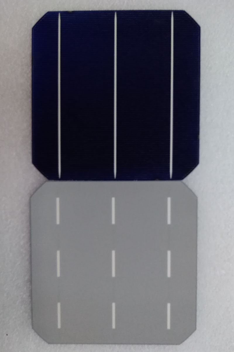 mono 3BB solar cell 156.75*156.75mm   18.4-19.5%