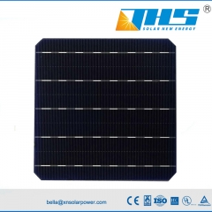 mono solar cell 5BB BIFI 20.0%-20.5% 156.75mm