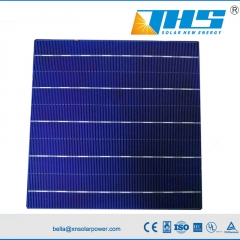 poly 156.75mm 5BB 18.4%-18.8% solar cell