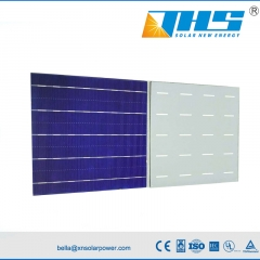 poly solar cell 156.75mm 5BB 18.9-19.5% PERC solar cell