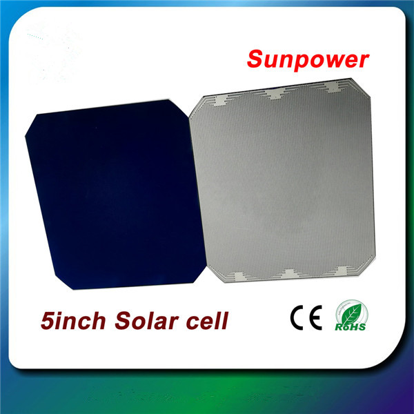 sunpower solar cell 3W-3.2W none busbar  19.5%-20.8%