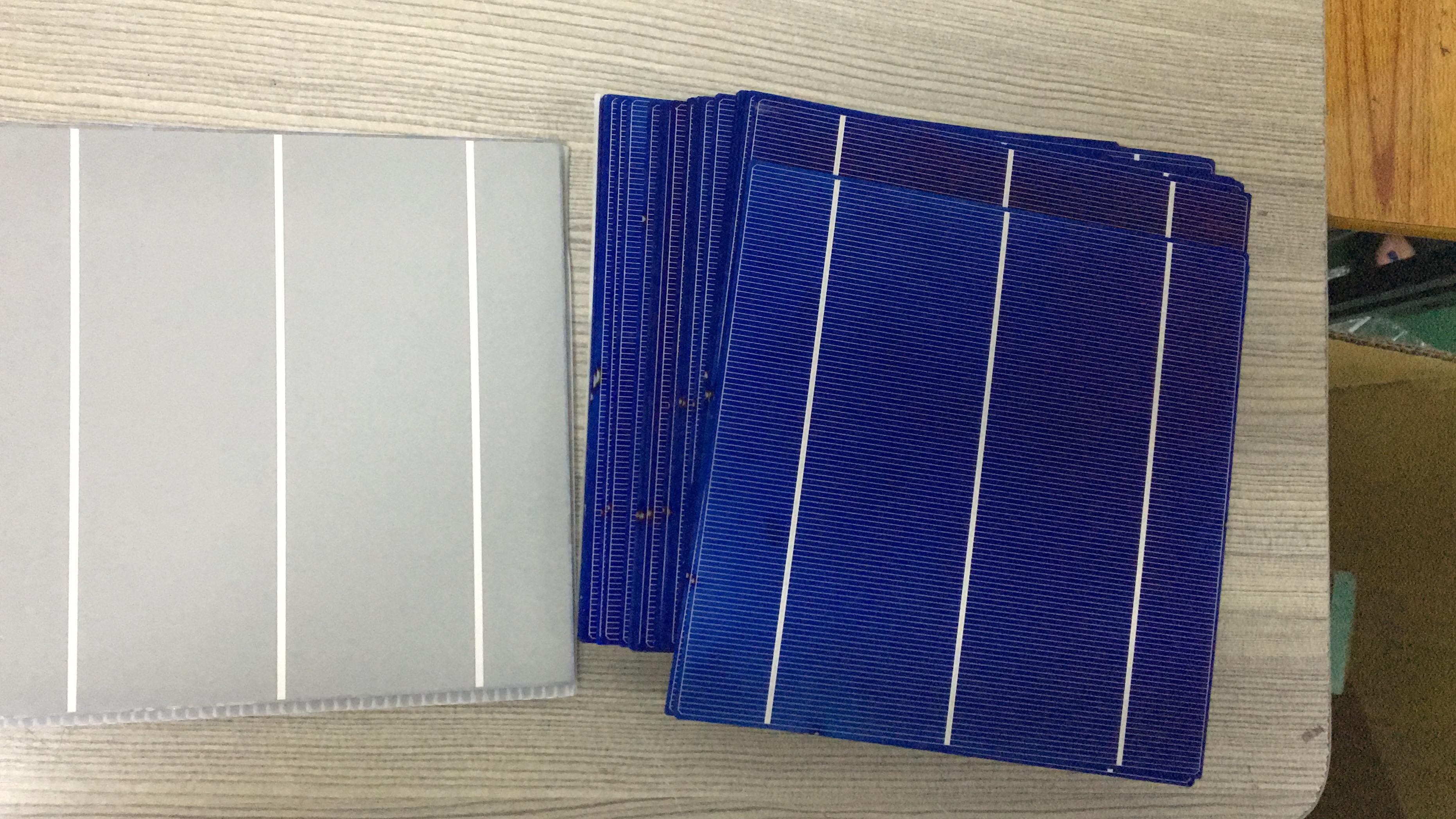 A grade 3BB poly solar cell 17.6%-18.2%