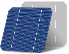 125mm 2BB mono solar cells