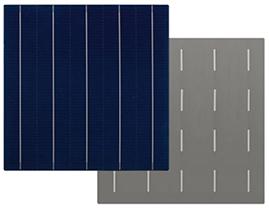 BQ 5BB Poly  perc Solar Cells