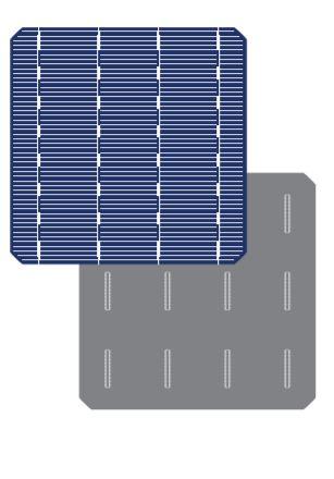 Mono-crystalline solar cell