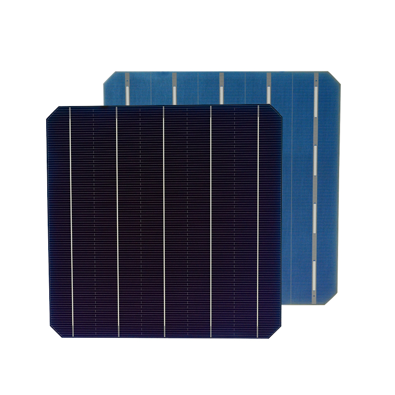 5BB mono BIFI N-type solar cells