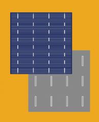 Poly-Crystalline Solar Cell 4BB