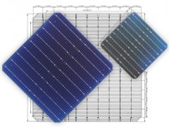 MS-9BB166 Mono Perc Solar Bifacial Cells (Half Cut)